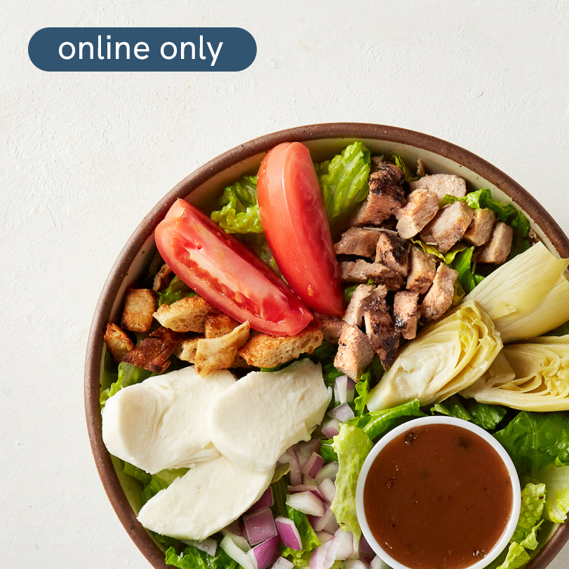 Build your own salad at Oath Pizza