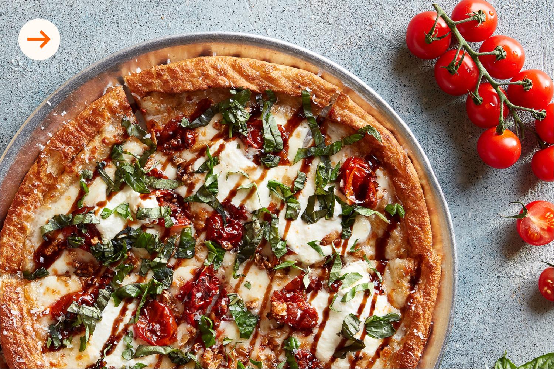 Bella Personal Thin Crust Pizza at Oath Pizza
