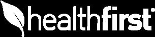 white healthfirst logo
