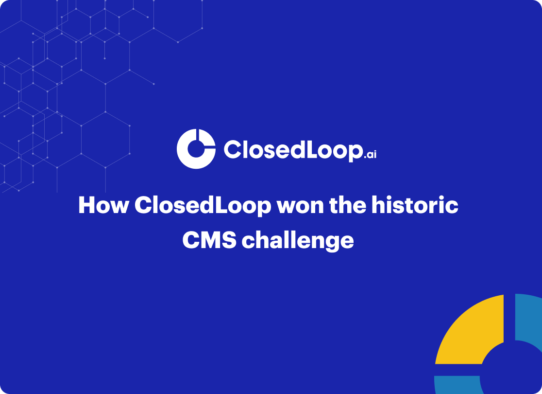how closedloop wins the CMS challenge