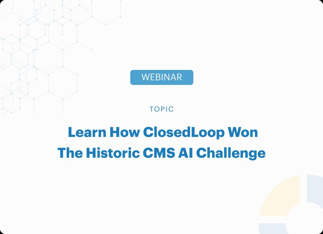 Closedloop wins CMS challenge