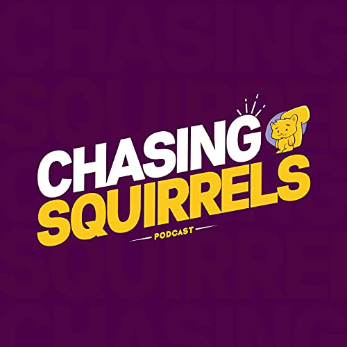 Chasing Squirrels podcast logo