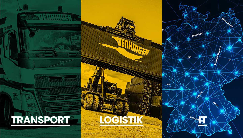 grafische Darstellung von Transport. Logistik und IT