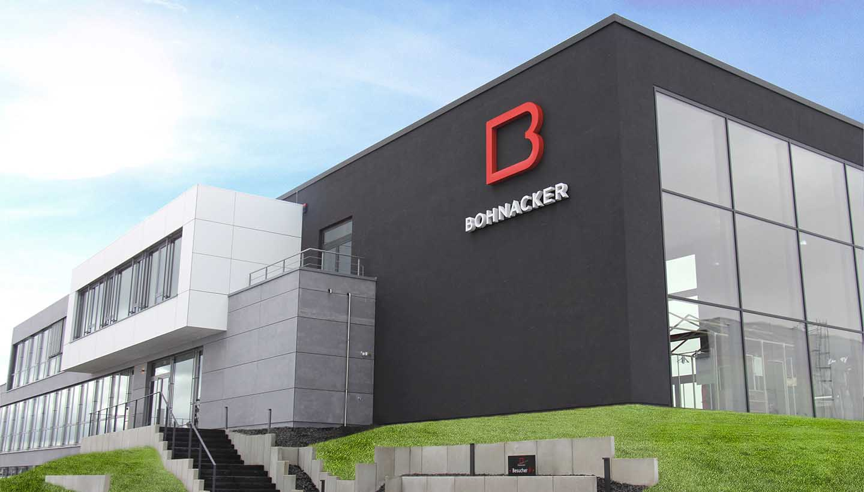 Gebäudeansicht der Firma Bohnacker aus Blaubeuren