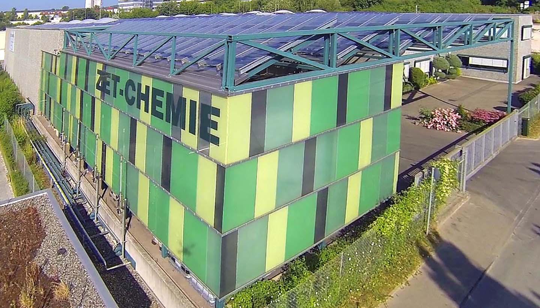 Gebäudeansicht der ZET-CHEMIE GmbH von außen