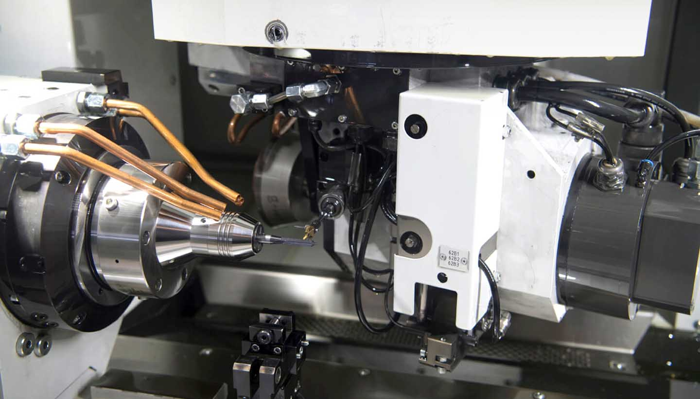 Nahaufnahme Maschine Metallverarbeitung