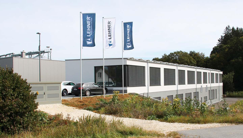 Gebäudeansicht der Lehner Maschinenbau GmbH