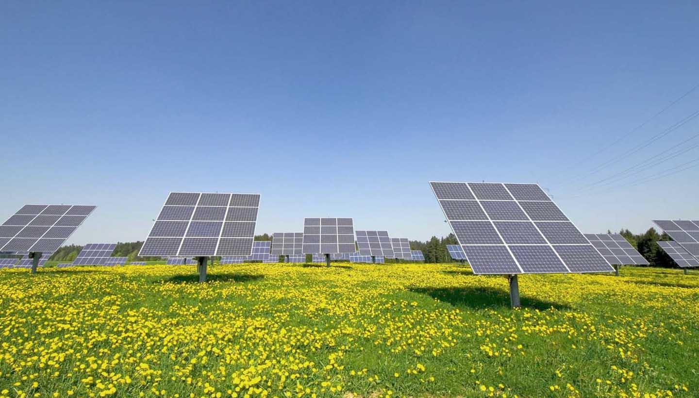 Eine Photovoltaikanlage