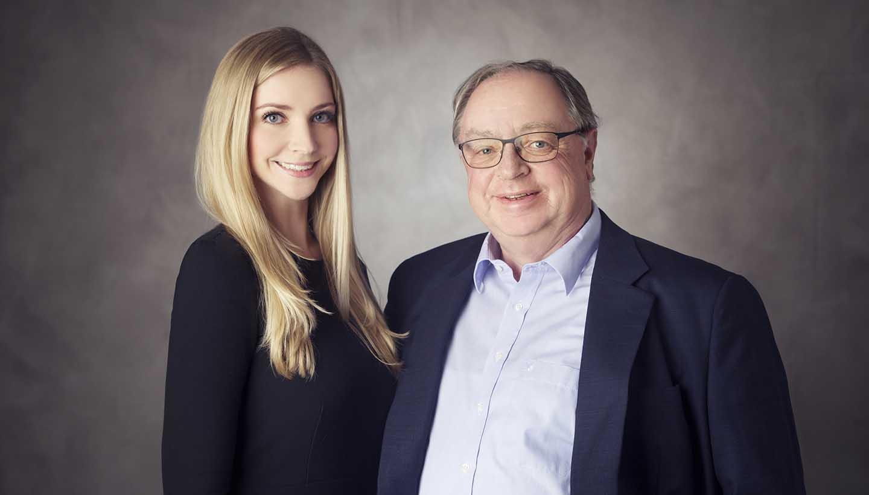 Frau Caroline Walleter-Plersch und Herr Rupert Plersch