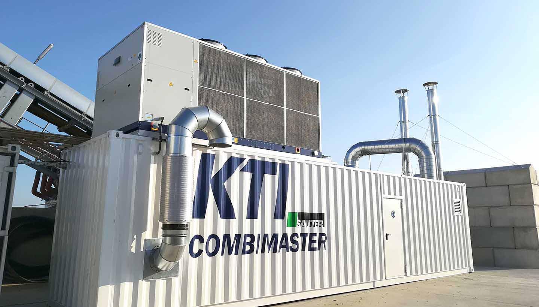 Kälteanlage in einem Container