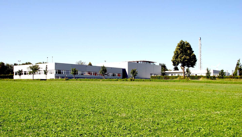 Gebäude der Firma Lorenz von außen