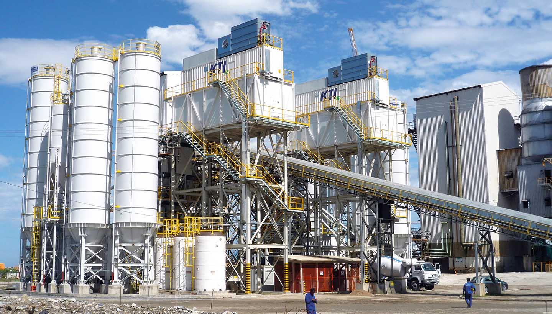 Kälteanlage von KTI auf einer Industrieanlage
