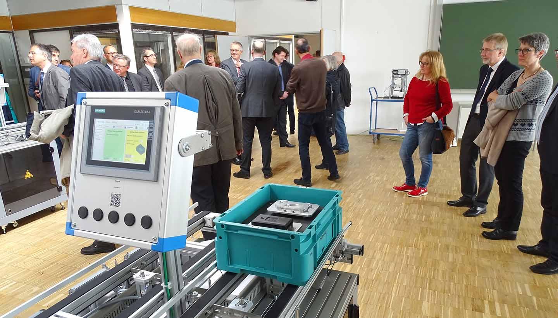 Die Lernfabrik der Gewerblichen Schule Ehingen