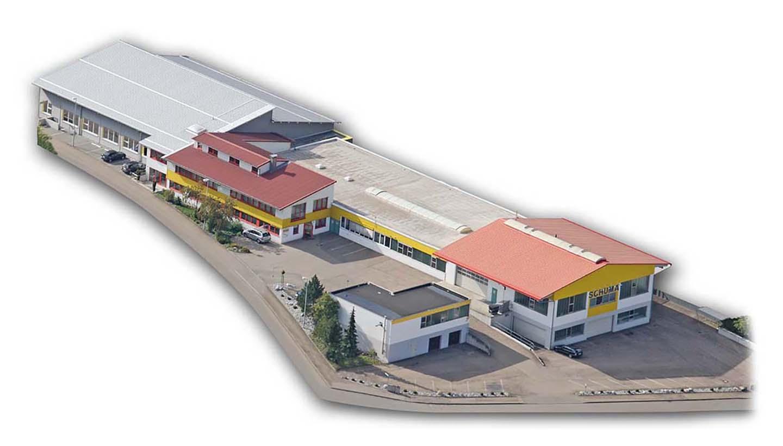 Luftaufnahme von SCHUMA Maschinenbau