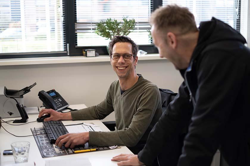 Communicatie op kantoor