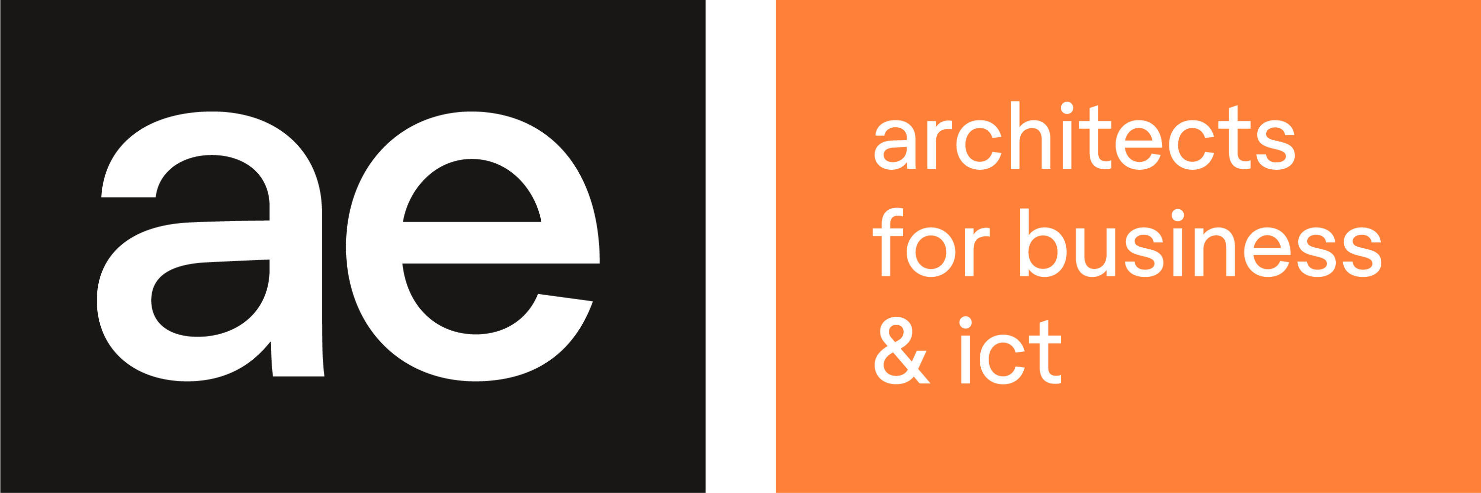 AE architects for business & ICT logo