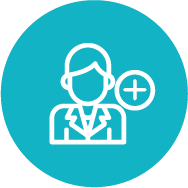 Step 1: Sign Up Icon This icon indicates that students can sign up for international medical clinical rotations