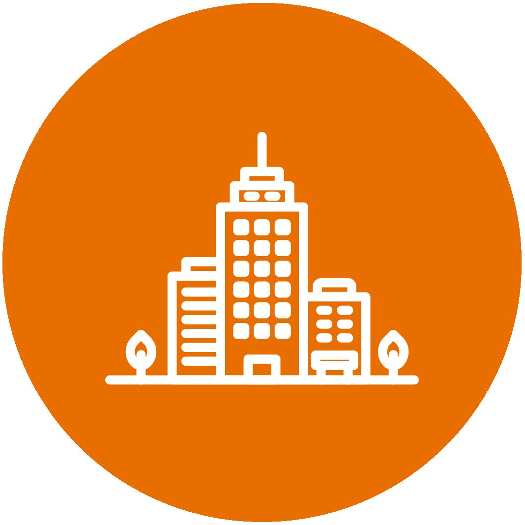 Orange City Icon