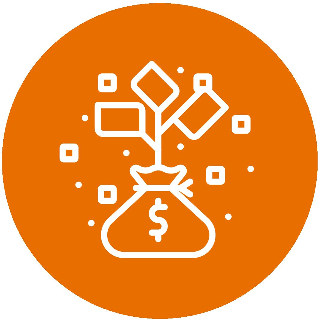 Orange Invest Icon