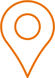Orange in-person program icon rotate in-person to complete your medical electives in the USA