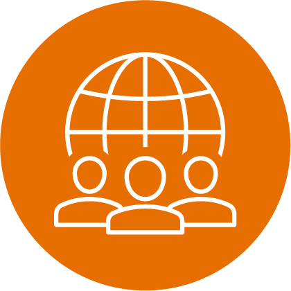 orange cultural competency icon