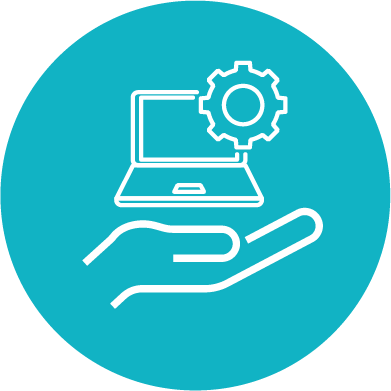 Step 3 technology icon