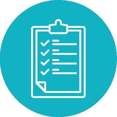 Step 1 checklist icon