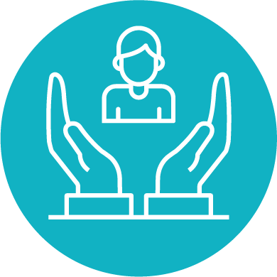 Step 4 student support icon
