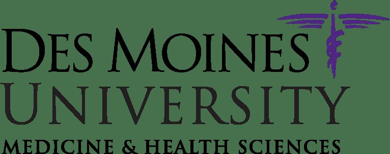 Des Moines University Medicine and health sciences logo