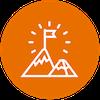 achievement icon orange