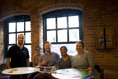 team building activity photo