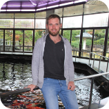 This Picture represents Ben from Koi Water Gardens Ltd