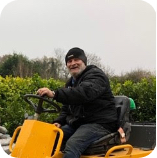 This Picture represents Simon from Koi Water Gardens Ltd