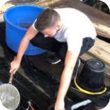 This Picture represents James from Koi Water Gardens Ltd