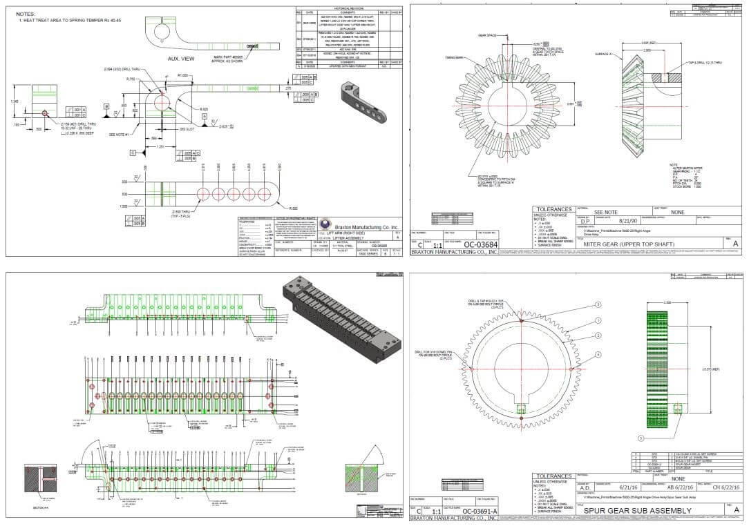 Engineering sample drawing