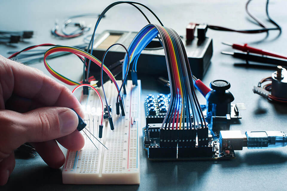 A electronic circuit board