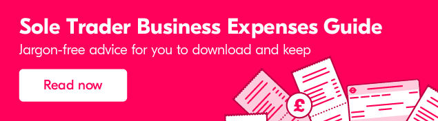 Sole Trader Expenses - What can you claim?