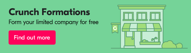 It's quick and easy to register a business with Crunch Formations