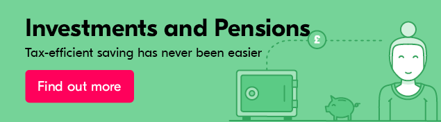 Find out more about our investments and pensions support