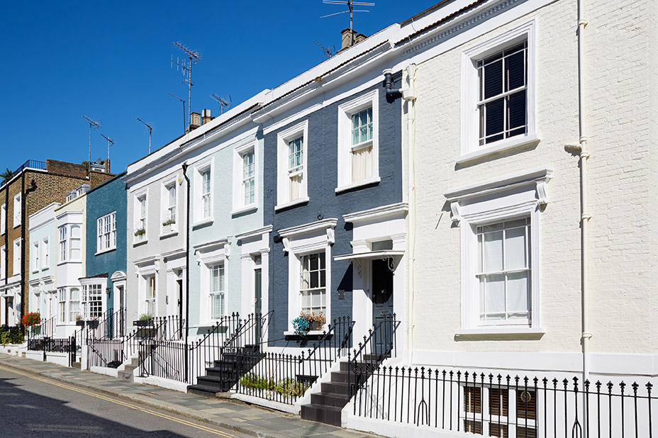 Crunch Mortgage Monitor - could you save money on your mortgage - image of a row of houses