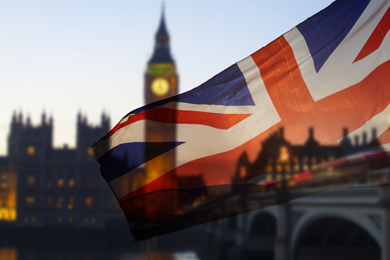 Employment Law in the United Kingdom - what differences are there? Image of the UK flag in London