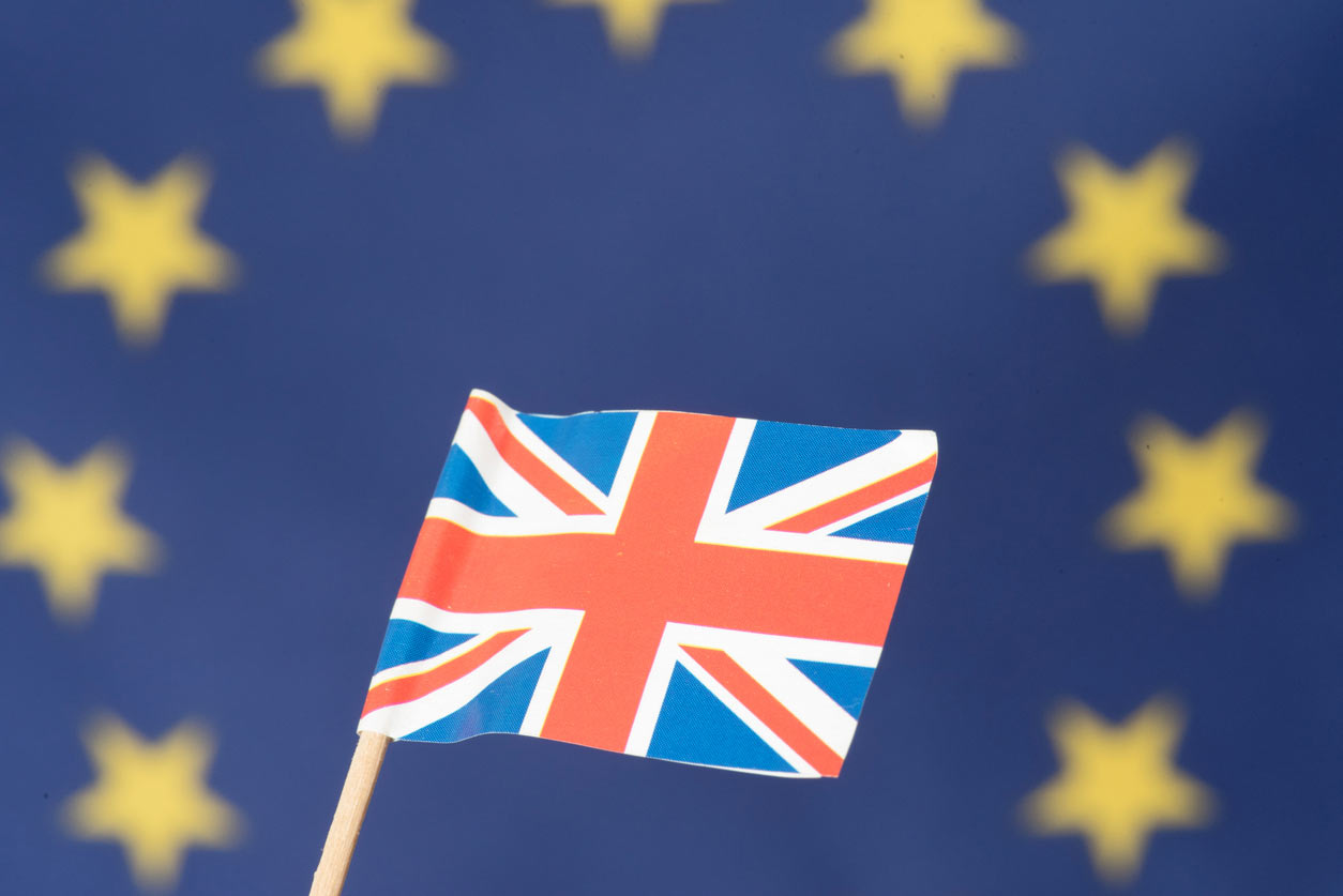 Brexit: What The Self-Employed Need To Know And Do, image of British and EU flags | Crunch