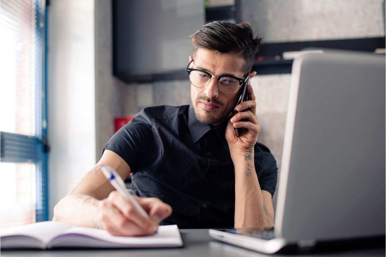 What should I do if my tax code is incorrect? - A freelancer on the phone to HMRC