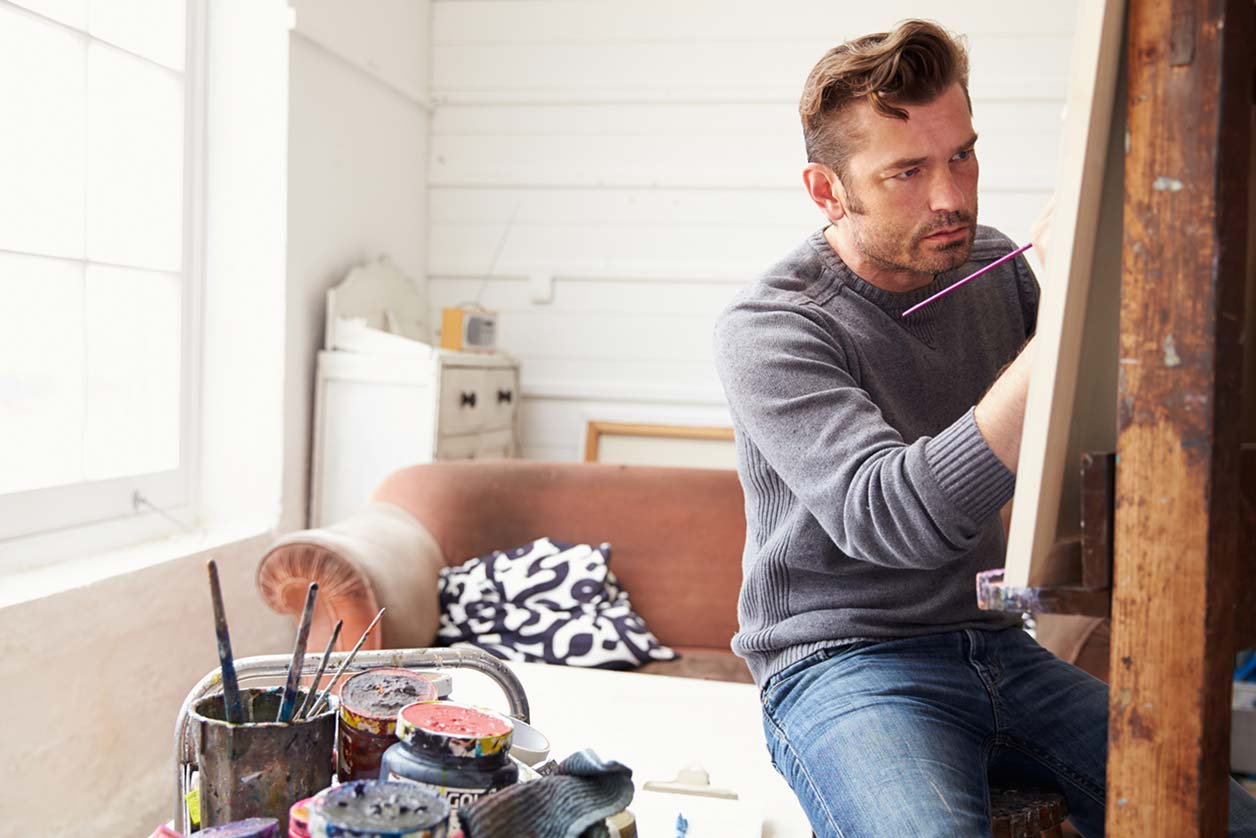 A specialist painter