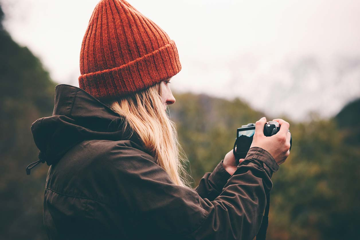 A freelance photographer