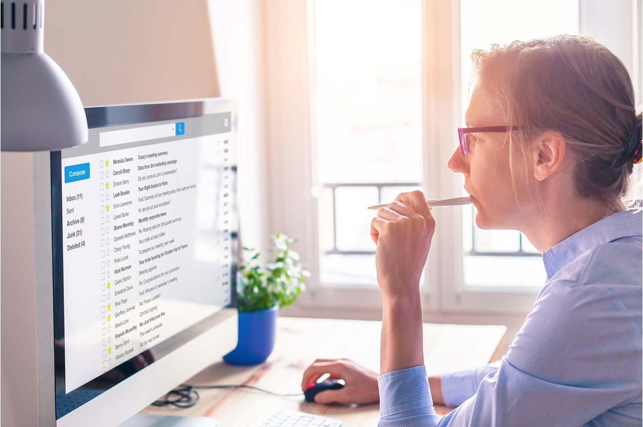 Freelancer using Outlook