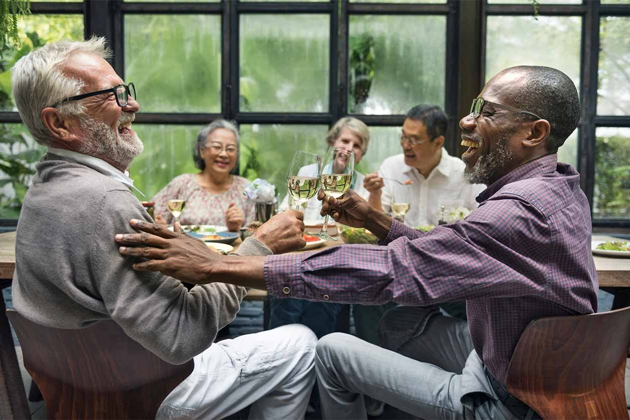What is Pension Automatic Enrolment (PAE), how does it affect small businesses?, image of pensioners having fun | Crunch