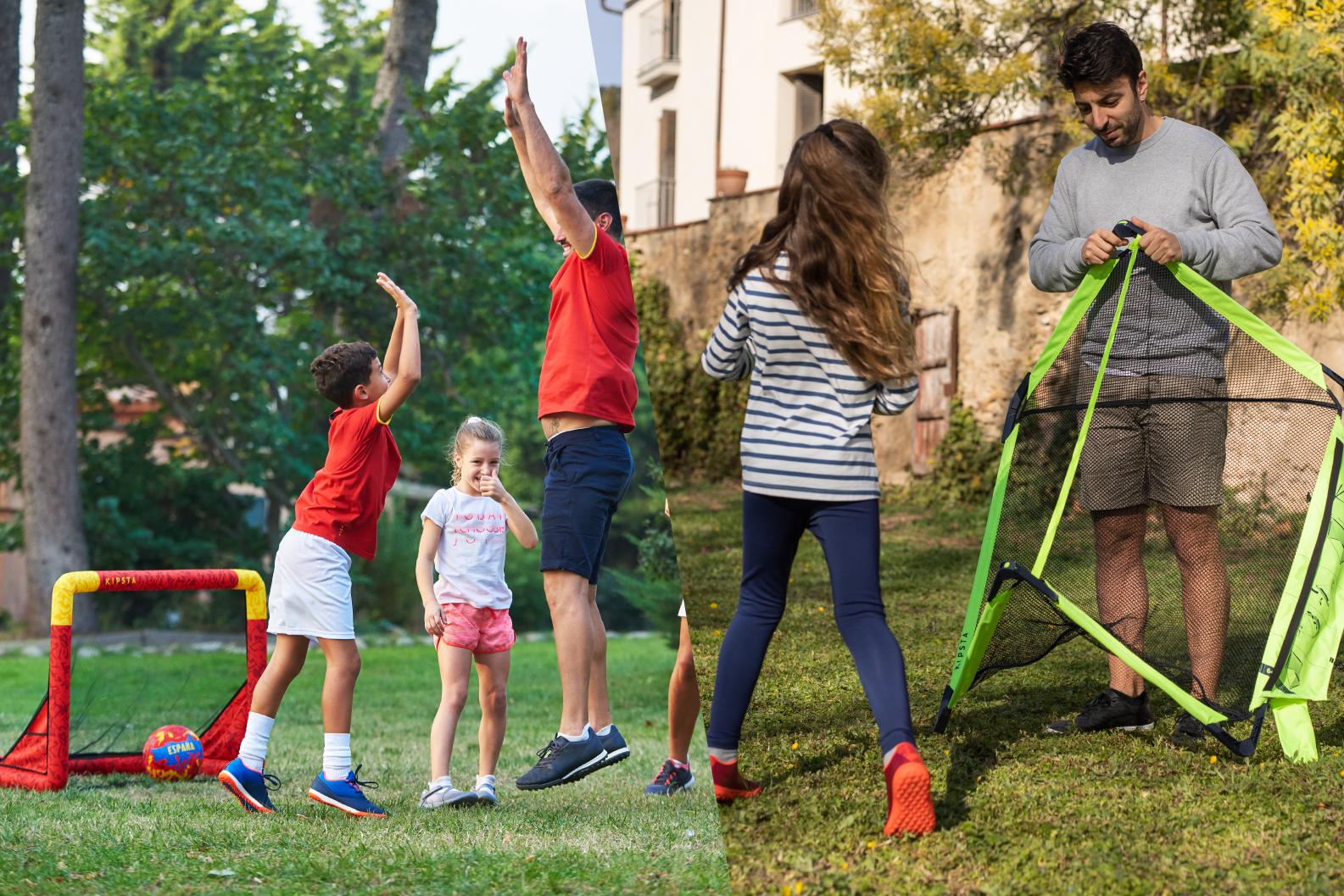 Football nets for children.