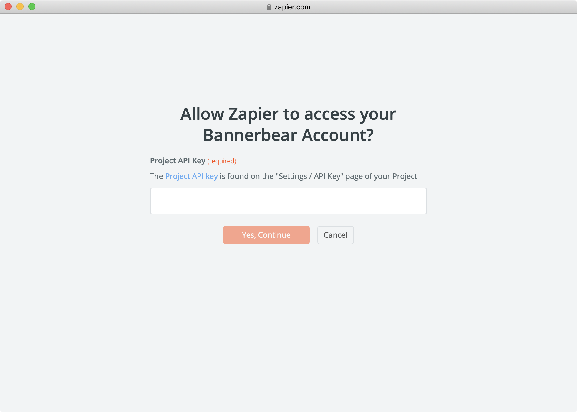 ></div></figure><h2>Selecting NYT data to push to Bannerbear</h2><p>Once you have successfully authenticated, after clicking