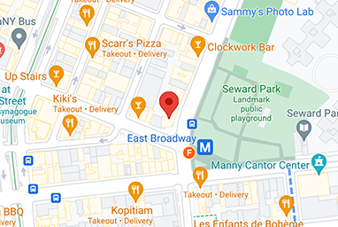Map of the location in Chinatown